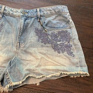 Calvin Klein Jeans Embroidery Shorts